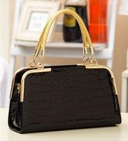 New arrival famous retro Euramerican Pop CROCO design already set bag womens leather handbag/shoulder bag WLHB855