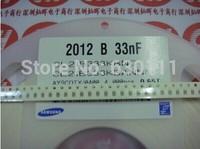 0805 33NF 333M Y5V 50V SMD capacitance / 0805 Multilayer chip ceramic capacitor (500pcs/lot)