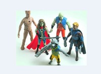 New Hot Movie&TV Anime Guardians of the Galaxy 9-14cm Action Figure Gift kids toys Free Shipping