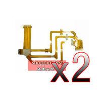 QW 2Pcs New LCD Flex Cable Replacement For Sony HDR-SR5E SR7E SR7 SR8E SR8 UX5E