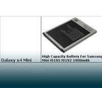 Galaxy S4 Mini i9195 i9192 AAA+ Original Replacement Battery Backup Spare La batteria del cellulare Batterie de mobile