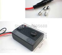 100pcs/lot Car Auto LED Music Voice Control Flash Light Lamp Flasher Strobe Controller 12V 2A