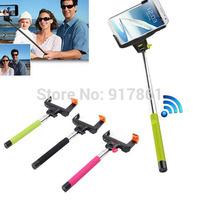 Bluetooth Shutter Extendable Handheld Selfie Stick Monopod for Samsung iPhone 6