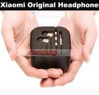 Wholesale Free Shiping Xiaomi Mi2s Headphones Stereo Earphone Mic Volume Control Xiaomi Piston Headset 1000PCS/lot