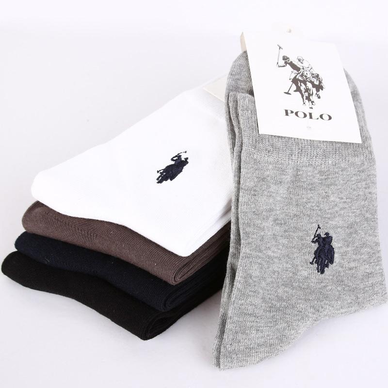 ( 2 pairs/lot ) большой размер Great мужчины в хлопок носки четыре цвета вилочная часть свободного покроя носки W2066