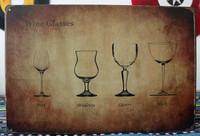 TIN SIGN Wine Classes Garage Hotel Casino  Metal Decor Wall Art Nevada L-05