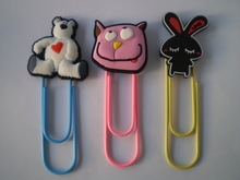 Custom cartoon PVC bookmark, promotional gifts in 2D/3D(China (Mainland))