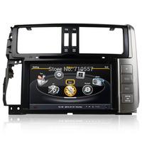 Car DVD GPS Navi Headunit Autoradio For Toyota Land Cruiser 150 Prado 2010 2011 2012 2013 CPU 1GB MHz/RAM 512MB 3G Free map
