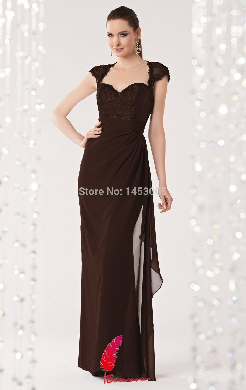 2015 Top Moda da dama de honra vestidos de renda inverno Querida dama de honra vestidos de princesa do assoalho-comprimento vestido de dama de honra(China (Mainland))