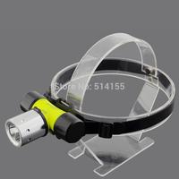 6800-T6 Aluminium alloy LED Glare waterproof Charging head lamp Flashlight electric torch Long shots Outdoor fishing head lamp