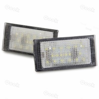 2x 18 LED 3528 SMD License Plate Light White Rear Lamp for BMW E46 2D(98-03)