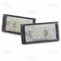 2x 18 LED 3528 SMD License Plate Light White Rear Lamp for BMW E46 2D(98-03)