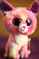 Ty Beanie Boos Cancun Chihuahua Plush, Pink, Medium
