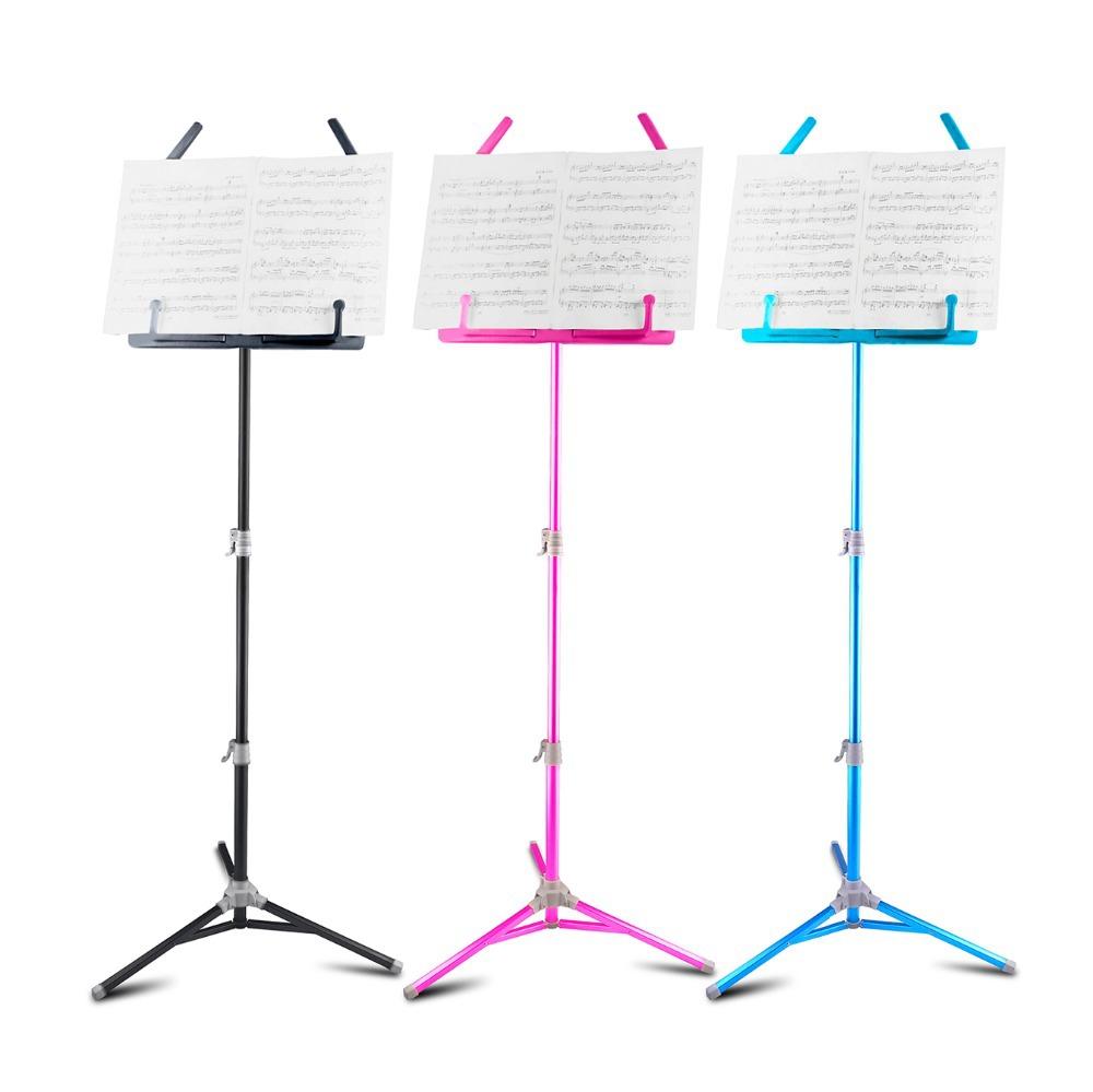 Aluminium Alloy Foldable Large Music Stand for Guitar Bass Violin Piano Flanger FL-06(Hong Kong)