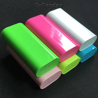 5600mah Candy Colorful Portable USB External Battery Charger Power bank for iPhone Samsung All Smart Phone
