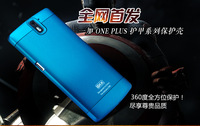 One Plus One Case New Luxury PC Shock Proof Case Cover For Oneplus One Aluminium Alloy Button Phone Cover Case Free Shipping