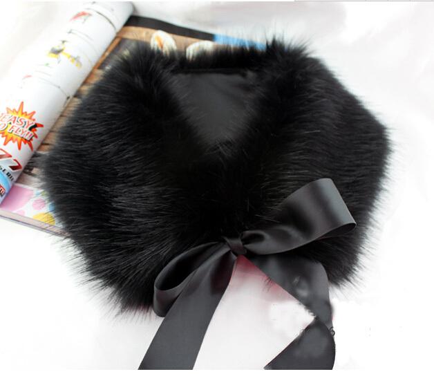 East Knitting A012 2014 New Fashion Women's Winter Scarf Faux Fur Scarf Raccoon Fur Cap Collar The False Collar Free Shipping(China (Mainland))