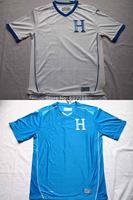 New 2014 Honduras World Cup Home White Soccer jersey A+++ Thailand Quality Embroider Logo 14 15 Away Blue Football Shirt