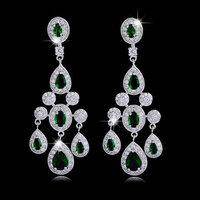 Hot Classic AAA Zzircon Earrings Fashion Woman Earrings