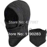 Hot Sale Thermal Fleece Balaclava Hood Police Swat Ski Bike Wind Winter Stopper Face Mask Skullies & Beanies Out Door Sports=FAC
