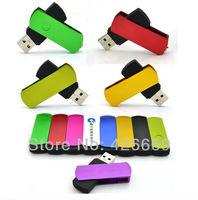 DHL Free Shipping Swivel metal 4GB 8GB 16GB 32GB 64GB 128GB 256GB 512GB USB2.0 Flash Memory Stick Drive usb flash drive pen disk
