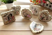 2014 Hot Sale New Creative Stationery Scenery Lace Model Rotatable Post-it Notes Paging Post-it Note Pads Wholesale
