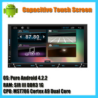 7 INCH Android 4.4 Car DVD player GPS Wifi 3G Bluetooth 2 DIN Universal X-TRAIL Qashqai x trail Juke Paladin Pathfinder Livina