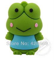 DHL free shipping cute frog prince8GB 16GB 32GB 64GB 128GB 256GB 512GB usb flash drive USB2.0 Flash Memory Stick Drive pen disk