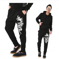 New Hot Fashion mens pant hip hop joggers casual sarouel jogging sport  sweatpants trousers slacks