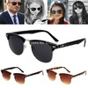D19 hot-selling newest Retro Vintage Womens Mens Designer Oversized Sunglasses Glasses Free Shipping