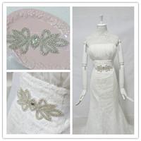 Free shipping Min order $10 HANDMADE Luxurious rhinestone waistband Cheap Wedding Bride Belt bridesmaid Sash on sale BW17