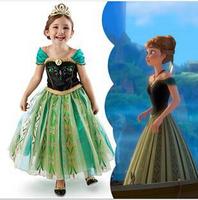 2014 New Frozen dress princess dress children dress ANNAxjh21