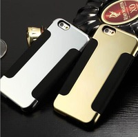 "New Luxury Blade Design Case for Iphone 6 4.7 Inches Para Duos Cases to Iphone6 4.7"" Metal + Soft 100pcs Free DHL Shipping"