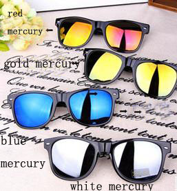 Special offer classic reflective sunglasses with various colors suitable for both man and woman which direct manufacture(China (Mainland))