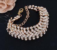 Luxury  Multilayer Bracelet Gold/Silver Plated Element Austrian Crystal Bracelets For Women best seller