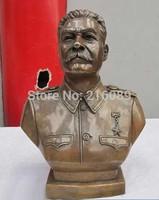 Bronze copper Art Politician Stalin Joseph statue