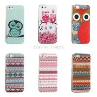 Lovely Fantasy Butterfly Flower Polka Dots Sleeping Owl Zebra Flag Soft Protector Phone Cover for 5.5 iPhone 6 Plus Case Bag