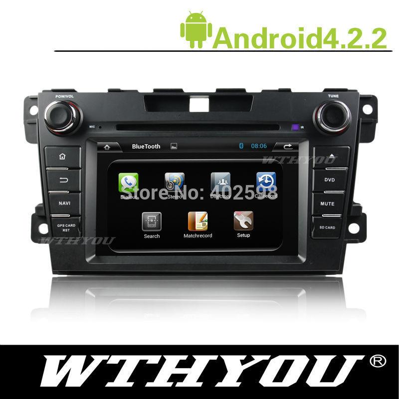 Android 4.2.2 7'' Capacitive Screen Special Car DVD Mazda CX-7 2012(China (Mainland))