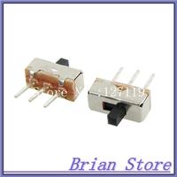 switch slide  2 Position mini interruptor  SPDT 1P2T 3 Pin PCB Panel Mini Vertical Slide Switch