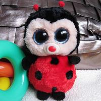 Ty Beanie Boos Bugsy - Ladybug PLUSH TOY