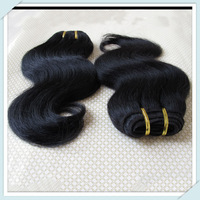 Cheap Malaysia Human Hair Weft Lovely Body Wave Hair Extensions Mixed 3pcs Color#1b Fast Free DHL Bulk Whosale Price Muse Hair