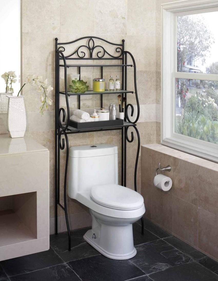 Continental fer toilettes salle de bains tag re tag re tag res de rack de - Etagere de salle de bain pas cher ...