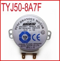 TYJ508A7F Mikrowelle Drehteller Motor TYJ50-8A7F Synchronous Motor 220/240V 50/60Hz 4W 29.7/35.6rpm CW/CCW