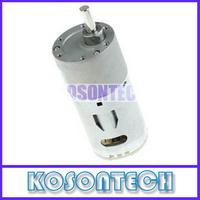 FREE SHIPPING - 37mm DC 12V 4RPM Micro Motor Replacement Torque Gear Box DC Gear Motor KS2200