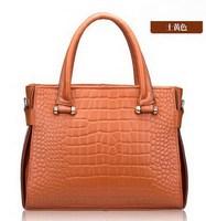 Genuine leather bag women leather handbags  fashion women messenger bags woman shoulder tote bags vintage handbag 2015 new