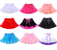 2014 Factory Direct Sale Girls Pettiskirts Casual  Baby Girl Tutu Skirt 2T-8T For Girls Multicolor Pettiskirts Free Shipping