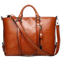 2015 New Fashion Women Leather Handbag Vintage Women Messemger Bags Shoulder Bag Hot Crossbody Bag Genuine Leather Tote Bolsas