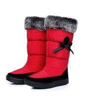 winter knee high boots platform shoes women chaussure femme lamb fur snow boots women snowshoes bottes BW65