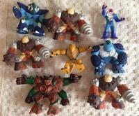 new T2 Anime Gormiti Figures Toys Models a lot 8pcs SALE