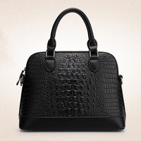 Women's Elegant Alligator PU Handbags,Top Fashion Shell Tote,Italy Style Croco Bolsas Famous Brand Messenger Shoulder Bag,SJ079